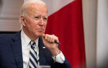 Biden holding pen